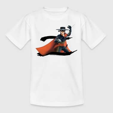 Zorro The Chronicles Masked Hero And Letter Z - Teenage T-shirt