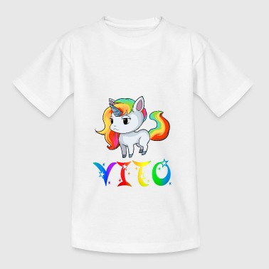 Einhorn Vito - Teenager T-Shirt