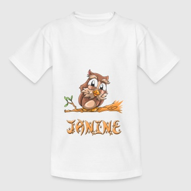 Eule Janine - Teenager T-Shirt