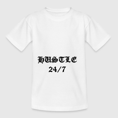 Hustle 24/7 - Teenager T-Shirt