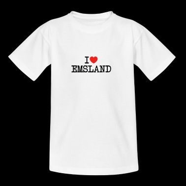 I love Emsland - Teenager T-Shirt