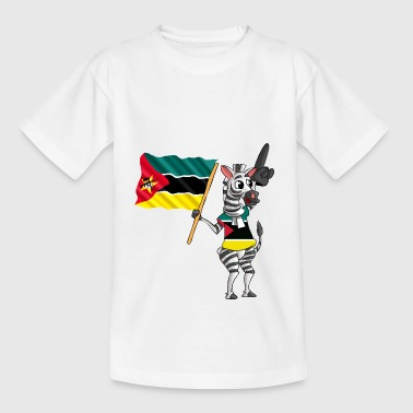Mozambique Zebra - Teenager-T-shirt