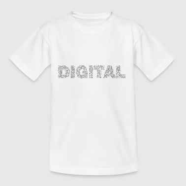 digital - Teenager-T-shirt