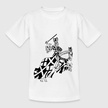 ridder ridder zwaard sword armor18 - Teenager T-shirt