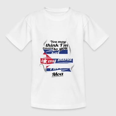 URLAUB KUBA KUBANER TRAVEL I M IN Cuba Moa - Teenager T-Shirt