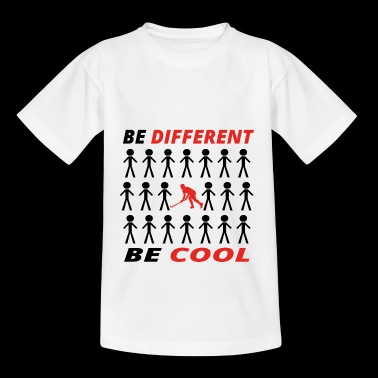 BE DIFFERENT anders king cool hockey eishockey ges - Teenager T-Shirt