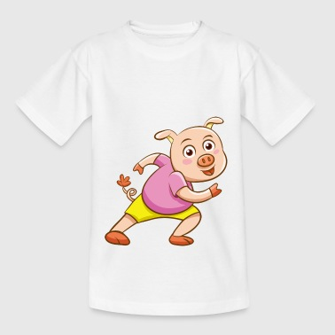 Pig Athlete - Teenage T-shirt
