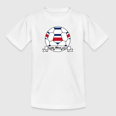 Voetbal Costa Rica 2018 - Teenager T-shirt