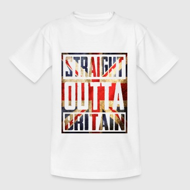 Straight Outta Britain - Teenage T-shirt