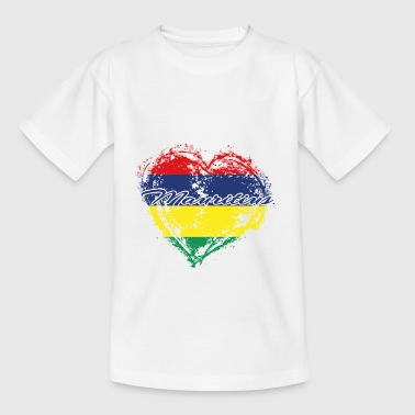 HOME ROOTS COUNTRY POISON LOVE Mauritius - Teenage T-shirt