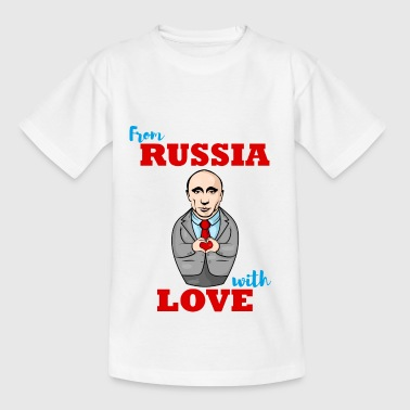 From Russia with love matryoshka - Teenage T-shirt