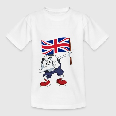 United Kingdom Dabbing football - Teenage T-shirt