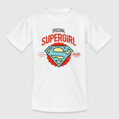 DC Comics Original Supergirl Logo - Teenager T-Shirt