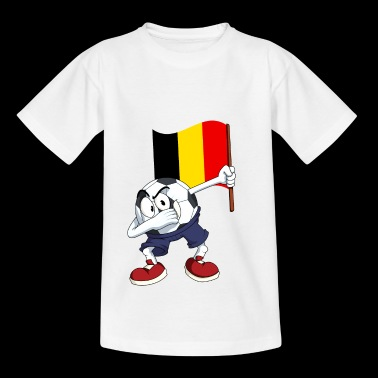 Belgique tamponnant Football - T-shirt Ado