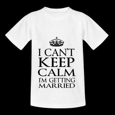 getting married copy - T-shirt Ado