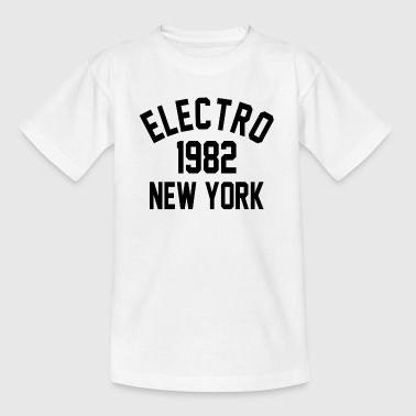Electro 1982 à New York - T-shirt Ado