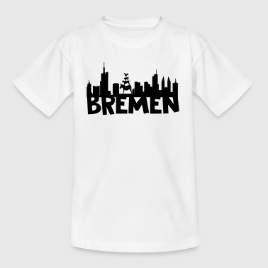 Bremen Skyline - Teenager T-Shirt