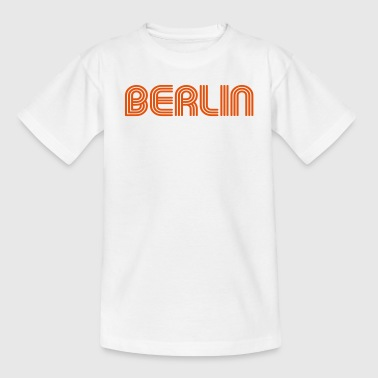 Berlin 70er Schrift Lounge  - Teenager T-Shirt