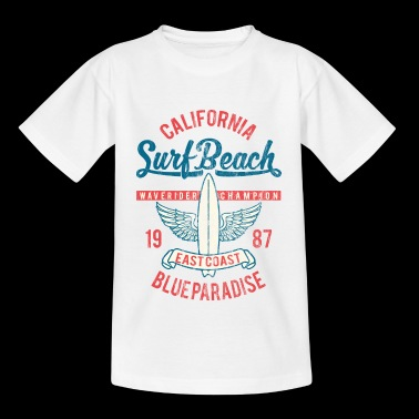 SURF BEACH - Vintage Surf & surfen Surfer Shirt - Teenager T-shirt