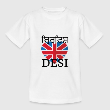 BRITISH DESI - Teenage T-shirt