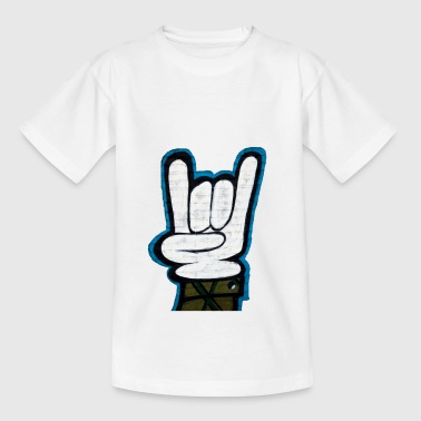 graffiti rock and roll - Teenager-T-shirt