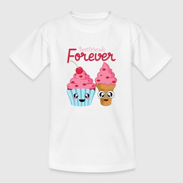 Bestfriends Forever Venskab sundae kage - Teenager-T-shirt