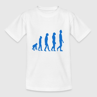 evolution - Teenage T-shirt