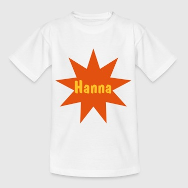 Stern 9 mit Namen - Teenager T-Shirt