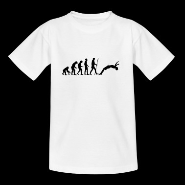 Water jumping evolution - Teenage T-shirt