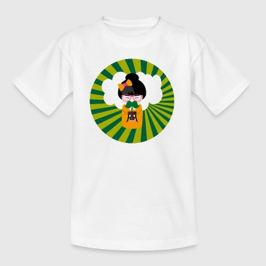 kokeshi cloud snor - Teenager T-shirt