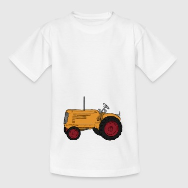 traktor - Teenager-T-shirt