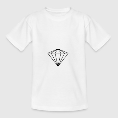 diamant - Teenager-T-shirt