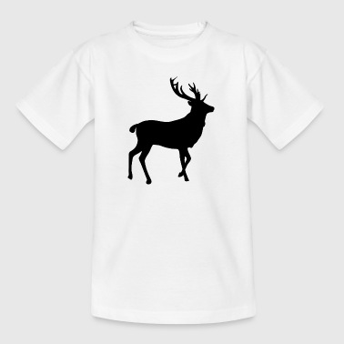 Deer Elk · · · hjorte elg - Teenager-T-shirt