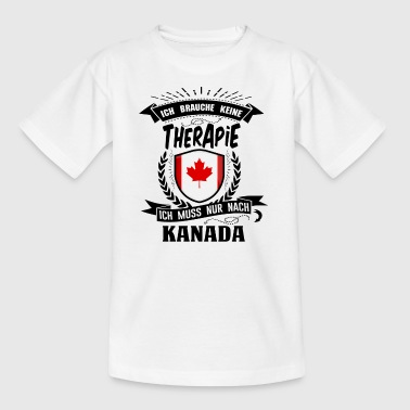 Therapie Kanada BLK - Teenager T-Shirt