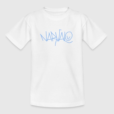 blauw Narvalo - Teenager T-shirt