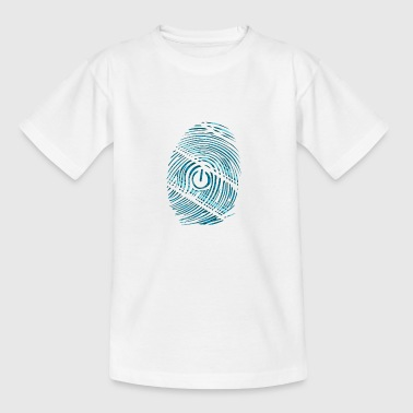 digital nørd - Teenager-T-shirt