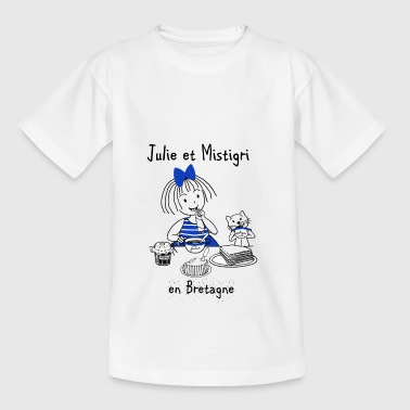 Julie und Bretagne Mistigri - Teenager T-Shirt