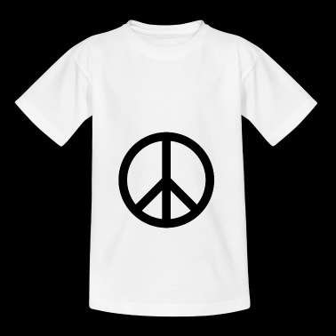Peace Teken - Teenager T-shirt