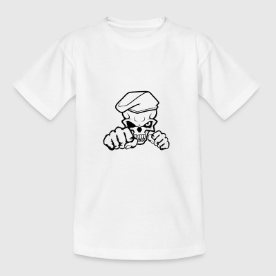 Schädel-Soldat - Teenager T-Shirt