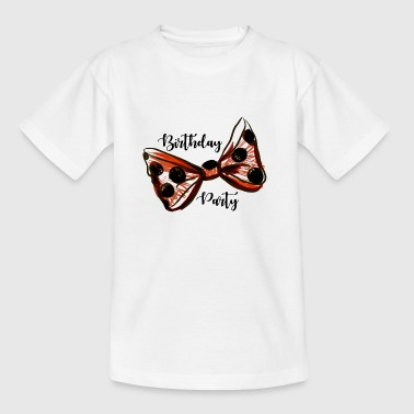 Birthday Party. Trendy Girl. Birthday Party Gift - Teenage T-shirt