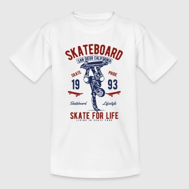 Skate For Life - T-shirt Ado