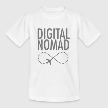 Digital Nomad - Forever - Teenage T-shirt