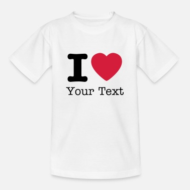 I Love I love / I heart DELUXE - Teenage T-Shirt