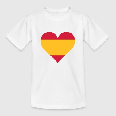 A heart for Spain - Teenage T-shirt