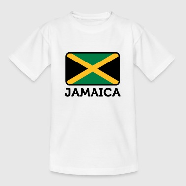National Flag of Jamaica - Teenage T-shirt