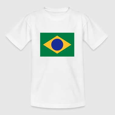 Drapeau national du Brésil - T-shirt Ado