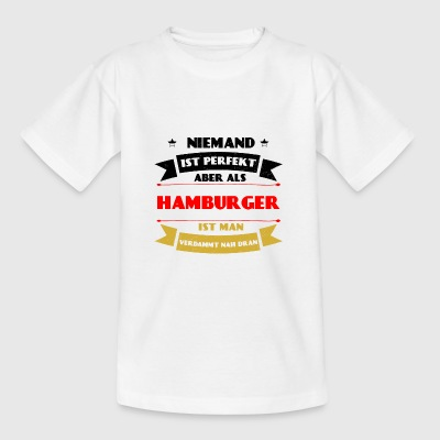 Perfect Hamburger - Hamburg Duitsland haven - Teenager T-shirt