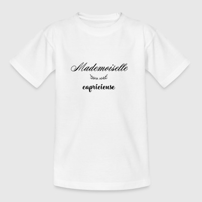 MADEMOISELLE CAPRICIEUSE - T-shirt Ado