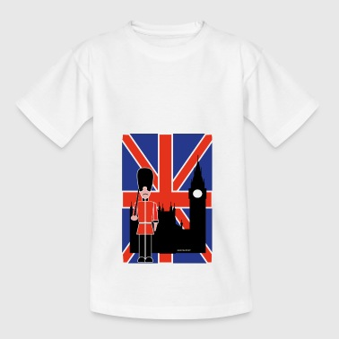 GUARD FLYING JACK ET BIG BEN - T-shirt Ado