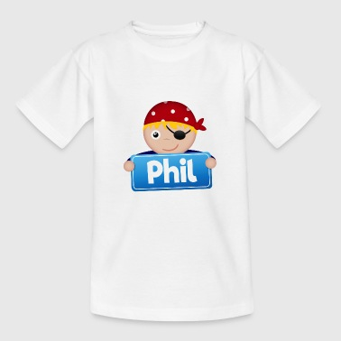 Little Pirate Phil - T-shirt tonåring